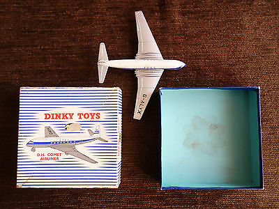 Dinky Toys D.H. Comet Aeroplane (model 999) Boxed Plane