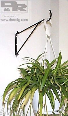 New Swivel Flower Basket Hangers / Brackets Heavy Duty For Hanging Garden Plants