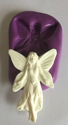 Fairy Silicone Mould.kids.cupcake topper.garden.myth Magical.birthday.mold.