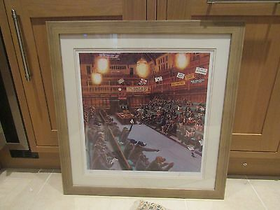 "Mick Cawston Rare Artist Signed Print - 144/995 ""Politically Incorrect"" - FRAMED"