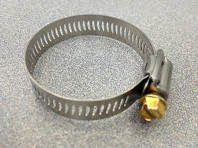 Breeze #24 Stainless Steel Hose Clamp 100 Pcs 62024