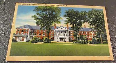 Old Postcard  CONCORD, NEW HAMPSHIRE   {PLEASANT VIEW HOME--1951}
