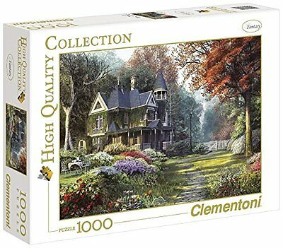 Clementoni Puzzle 39172 - Victorian garden - 1000 pezzi High Quality Collection