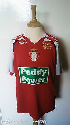 Saint Patricks Athletic 1929-2009 80yrs Umbro Football Shirt Youths 10-11 Years