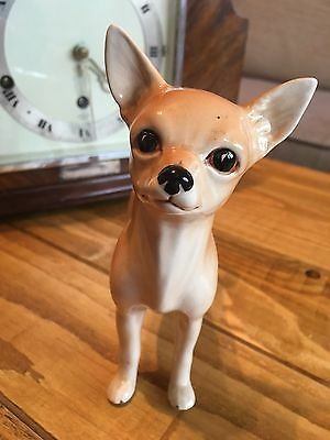 "Stunning beswick? Sylvac? No.5319 Chihuahua Dog 5.5"" Tall Excellent Condition"