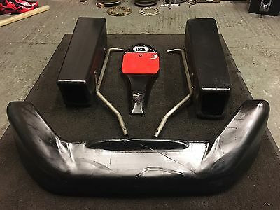 Go Kart Pod Kit With Pod Bars Rotax Max Tkm Pro Kart X30 F100.