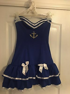 Ann Summers Size 10 Sailors Outfit/Dress