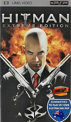��●● HITMAN - EXTREME EDITION ●● UMD Movie PSP Timothy Olyphant Action Thriller