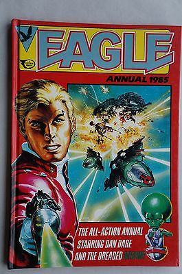 Eagle UK Comic Annual - 1985 - Dan Dare / Mekon - 32 Years Old