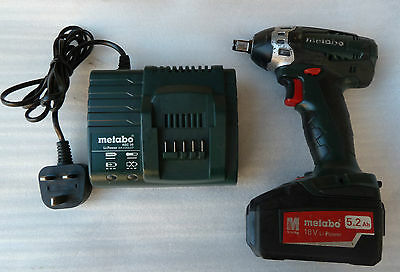 Metabo D-72622 impact driver and the charger