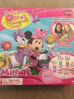 Minnie Blossoms And Bows Bouquet Game