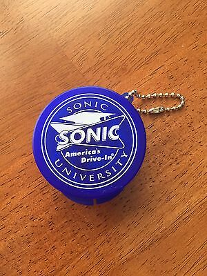Sonic America's Drive In Earbuds Keychain Sonic University NEW (NB207)