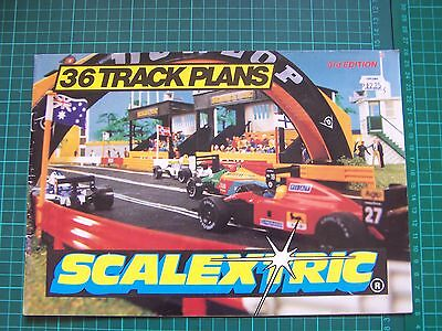 Scalextric 36 Track Plans 3rd Edition 1993