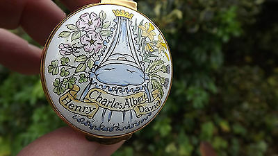 1984 Prince Harry Birth enamel box Crummles Enamels Only 1000 made