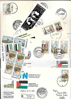 Solidarity With The Palestinian People Covers and MNH ** Stamps