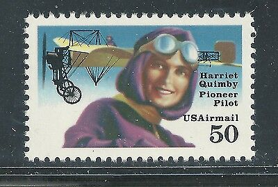 C128b***50c HARRIET QUIMBY***MNH US Single**AIRMAIL***PERF 11.2*