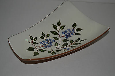 Stangl Pottery Blueberry Relish Dish
