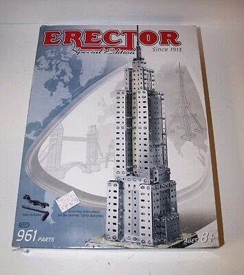 Erector Set Special Edition Empire State Building #0511 - NEW -