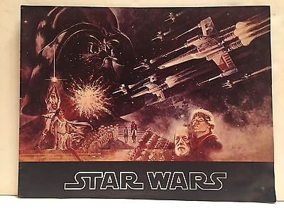 STAR WARS ORIGINAL THEATRICAL MOVIE PROGRAM 1977 First Edition