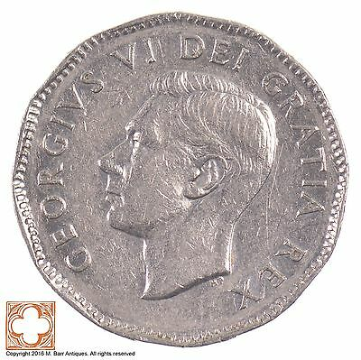1948 Canada 5 Cents King George VI *5480