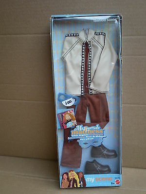 Barbie My Scene Boy Doll Fashion Outfit Masquerade Madness Rock Star Mattel 2004