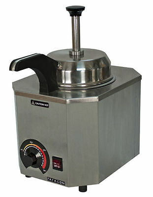 New Nacho Cheese Warmer Dispenser With Heated Spout Holds a #10 Can 2028 C