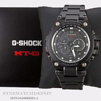 Authentic Casio G-Shock Men's Stainless Steel MT-G Series Watch MTGS1000BD-1A
