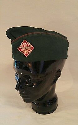 Vintage Boy Scouts of America BSA Air Sea Explorer Patch Scout Hat, Sz Large