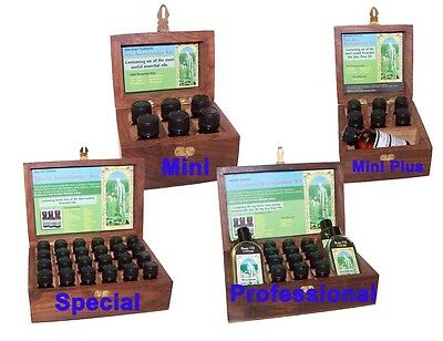 Aromatherapy Kit Gift Set Wooden Box Essential Oils Base Oil Massage Therapy