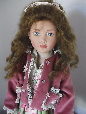 Beautiful  Kish 16 inch Vinyl Doll OOAK  Designer Outfit