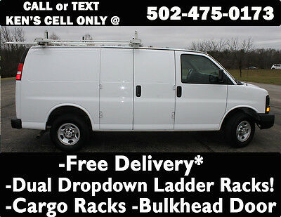 2015 Chevrolet Express Express 2500 2015 Chevy Express 2500 w/ Dual Drop Down Ladder Racks & Cargo Shelving