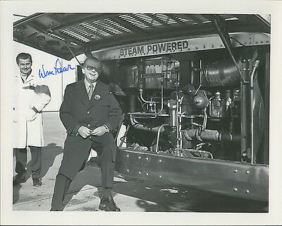 WILLIAM LEAR - AUTOGRAPHED 8x10 INVENTOR OF JET AIRPLANES w/ ICEBOX LOA CC