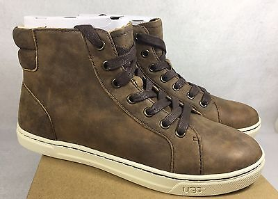 5871a5c1237 UGG AUSTRALIA BLANEY CRYSTALS Chocolate Lace Up Sneakers - $79.99 ...