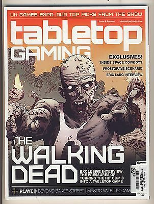 Tabletop Gaming Magazine 6 NM Walking Dead Edition