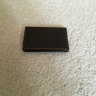 Breitling Leather Business Card Holder, Great Condition