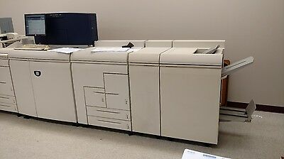 Xerox Docutech Nuvera 120 with Pro Finisher in working condition