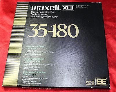 """NEW ++  EE-POSITION ++ ORIGINAL  MAXELL XLII 10.5"""" (10.5 inch); 1/4"""" ++ NEW"""