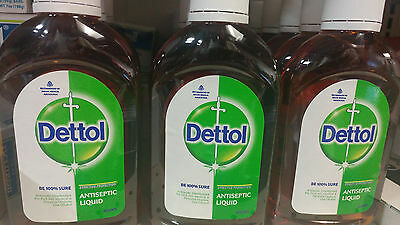 Dettol Antiseptic Disinfectant Liquid - 210 ml - FREE SHIPPING (USA SELLER)