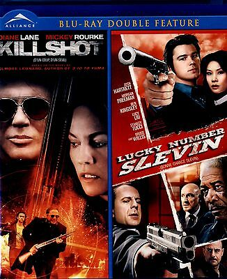 New  Blu-Ray Double Feature // Kill Shot & Lucky Number Slevin // Brucewillis