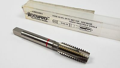 Plug Spiral Point Tap 7/16-14 H3 4FL HSSE UNC Red Band -4718E2117