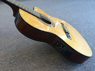 Ibanez GA5tce Classical Thinline Acoustic Electric Guitar @ CarlingfordMusic