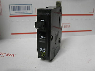 SQUARE D QOB120 CIRCUIT BREAKER 20 AMP 1 POLE QOB Yellow
