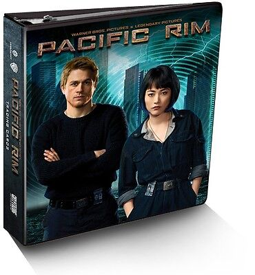 "Pacific Rim - Trading Card Binder And Cards - 1"" Binder With 9 Exclusive Cards"