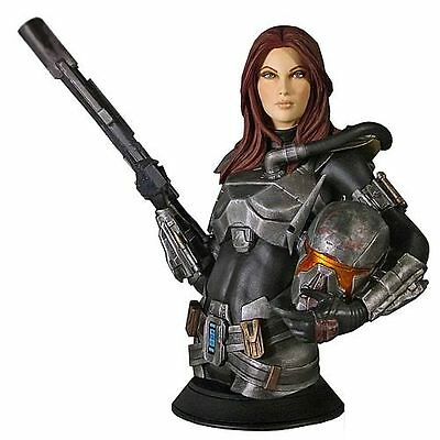 Star Wars The Old Republic Swtor - Bounty Hunter Shae Vizla Bust - Gentle Giant