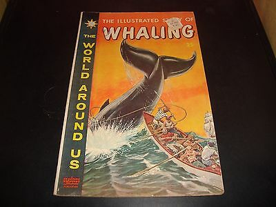 Classic Illustrated Story Of Whaling #28 Vintage Comic Book 1960 FN Condition