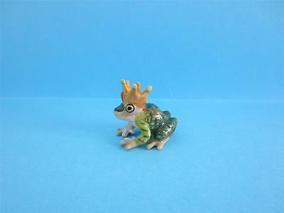 "New Little Critterz ""kiss"" Frog Prince Figurine So Cute, Comes With Box *mint*"