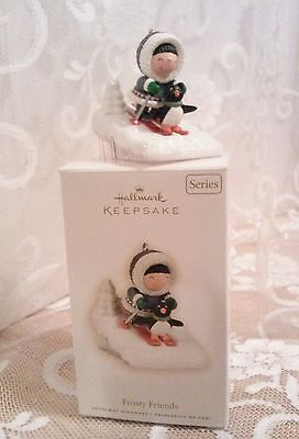 Hallmark 2009 Frosty Friends Ornament 30th in Series NIB !
