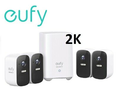 New Arlo Pro 2  Smart Security System with 4 HD Cameras VMS4430P