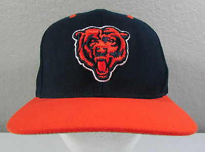 c2897e0211a NFL Mitchell   Ness Chicago Bears Blue Orange Adjustable Snapback Hat Cap