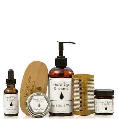 Beard Grooming Bundle by Lions & Tigers & Beards Oh My!
